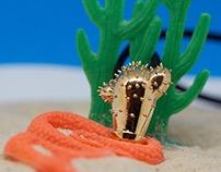 Cactus Pendant   Artist Collaboration