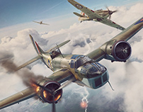 Battle of Britain Combat Archives Vol.6 - cover