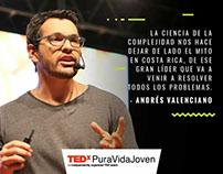 Andy Valenciano TEDx PuraVidaJoven