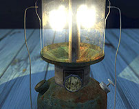 Old Lamp: 3D Lighting and Texturing
