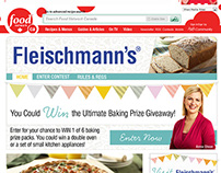 Fleischmann's Contest Site on Food Network Canada