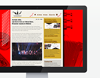Music organisation website