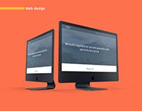 patrick+joans | logo & web design