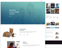 Education Landing Page.