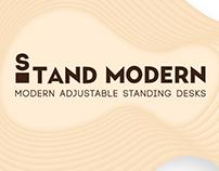 Stand Modern Brand Identity
