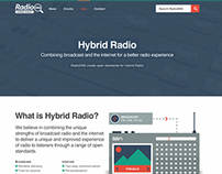 Hybrid Radio website
