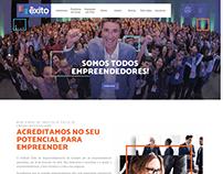 Projeto Site Instituto Êxito de Empreendedorismo