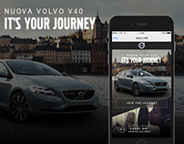 VOLVO V40 (Shazam App)