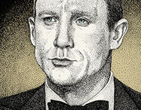 James Bond Portraits (trilogy)