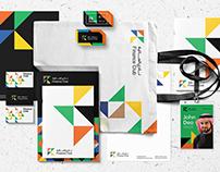Finance club brand design.