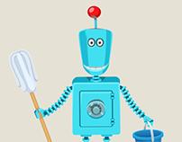 Allowance Bot animations