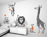 lovely Uma ! :: children's wall decals
