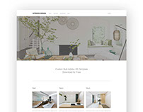Free Adobe XD Web Template