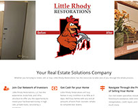 Little Rhody Restorations | Website Design