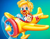 Krokero's mascot