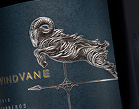 WindVane Core Tier Wine Package Design