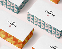 Sushi Soldier - Visual Identity + Packaging