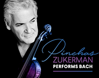 Pinchas Zukerman Performs Bach, BSO 2017-18