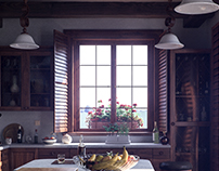 Kitchen in the Morning Light