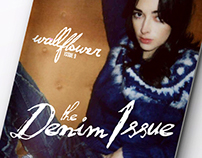 Wallflower : The Denim Issue