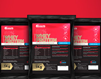Novas Embalagens Whey Protein - Growth Supplements
