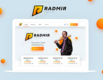 RADMIR RP - NEW DESIGN SITE MAKET