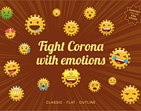 Fight Corona with Emotions