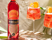Wilfred's Non-Alcoholic Aperitif Branding