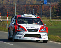 Luis Pérez Companc en Munchi's Ford World Rally Team