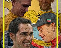 Le Tour de France illustration