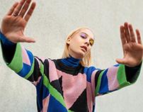 Fashion editorial for Go guide magazine