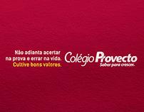 Provecto / Cultive Bons Valores 2014.