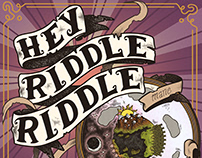Cover Art Design // Hey Riddle Riddle Podcast Logo