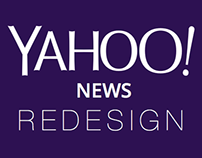 Yahoo! News Redesign