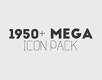 1950 MEGA ICON pack – FREE DOWNLOAD