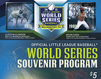 Little League Baseball World Series Program