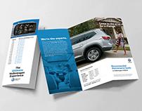 Volkswagen Tri-Fold Brochure