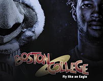 Boston College Space Jam Posters