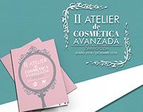 """Díptico Novaltia """"II Atelier de Cosmética Avanzada"""""""
