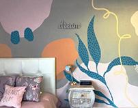 Diseño e Ilustración de Mural