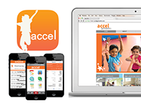 """Accel Gymnastics"" Rebranding Campaign"