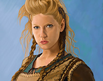 Lagertha - Vikings Fanart