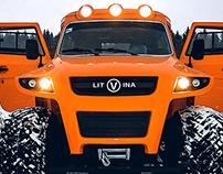 cross-country vehicle (designer - Artem Smirnov)
