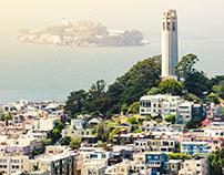 San Francisco by Mary Mickel