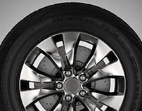 3D Tires for Dunlop