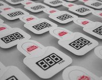 Fridge stickers and POS design - Stella Artois