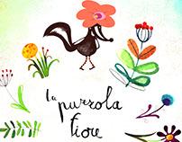 La puzzola fiore-STINKY SKUNK FLOWER