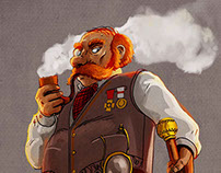 Character design : Private detective