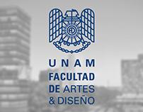 Identidad FAD, UNAM  Propuesta B