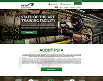 PSTA Homepage Design Inspiration